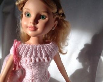 "16-18"" dolls designer knitwear for summer"