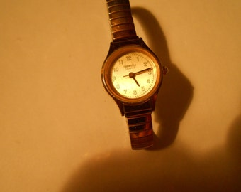 tiny caravelle ladies watch