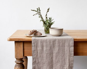 Natural Vintage Table Runner