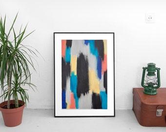 Abstract Painting // Original Acrylic Painting // Modern Art