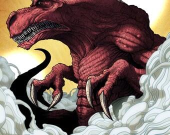 Dinosauraus (Image's Invincible Character) 11x17 Print