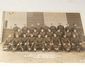 Vintage Army Photograph Picture Canadian Platoon 3 Tactics MT Wing 1942