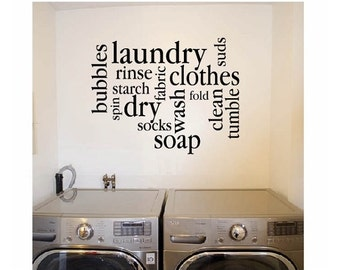 Laundry Mud Room Signs