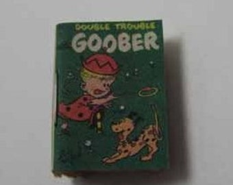 Comic Book Goober - dollhouse miniature 1:12 scale