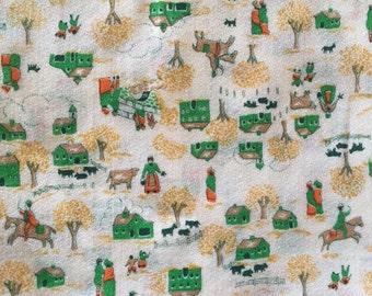 Vintage Farm Fabric