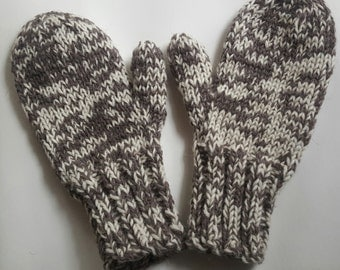 Fisherman's Wool Mittens