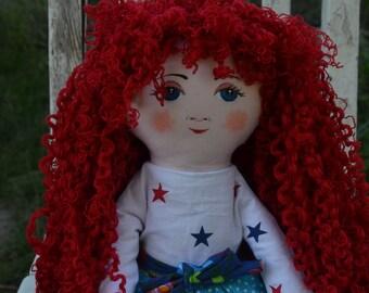 Art doll,fabric doll,cloth doll,handmade,vintage,gift idea,birthday,doll pattern,art doll,gift for girl,cuddly,art doll,gift idea for girl