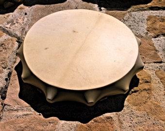 15' Shaman drum, Deer Hide, natural,not painted,Handcrafted