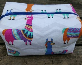 Llama Drama Make-up Bag, Pencil Bag, Toiletries Bag, Storage Bag