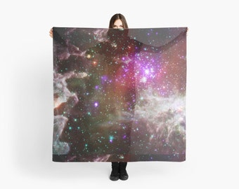 Space scarf - NGC 281: Living the High Life NASA