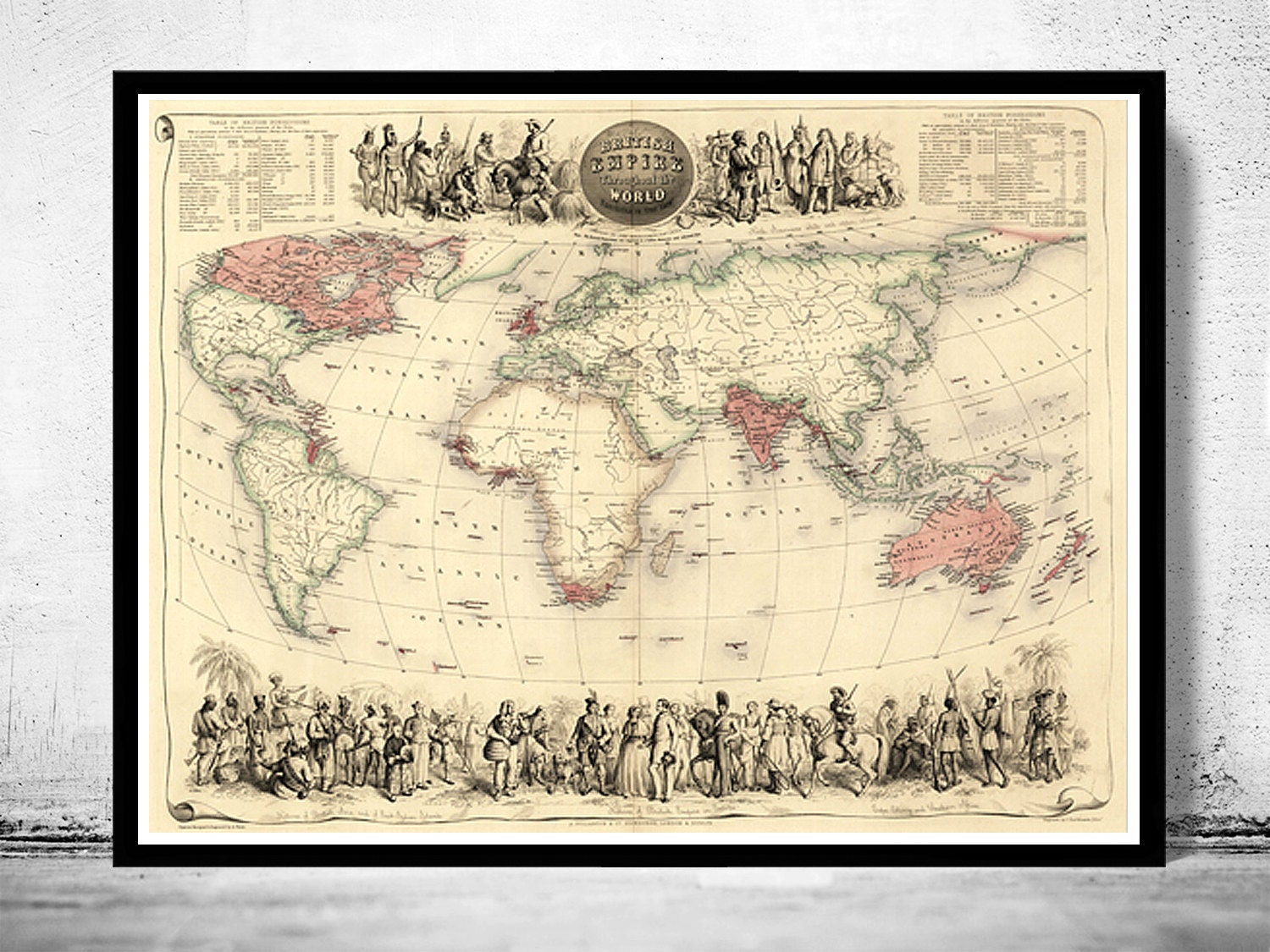 vintage world atlas related - photo #8