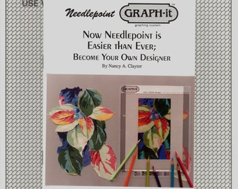 Graph-It Needlepoint Graphing System Be Your Own Designer Kit Graph Nancy Claytor