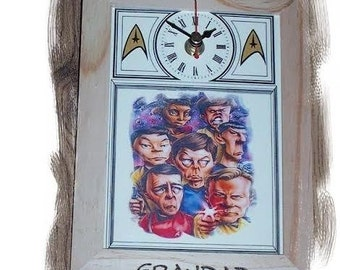 Star Trek Unique Clock