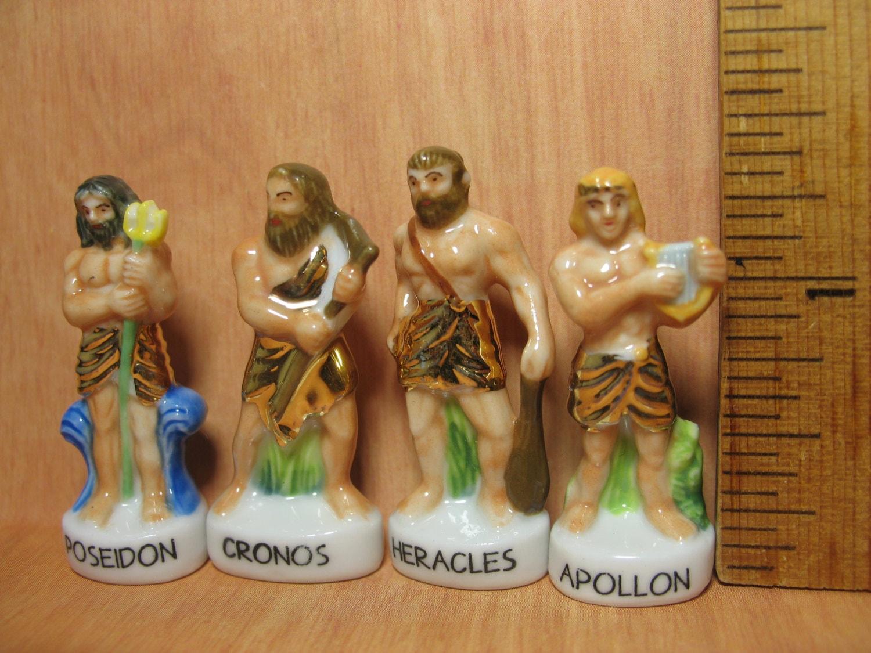 greek gods mythology set 10 pcs zeus hera apollo hades athena