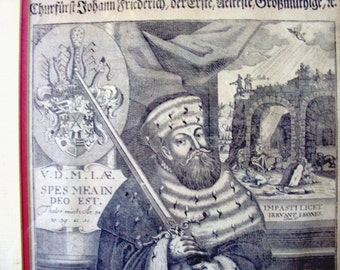 1770s German Engraving