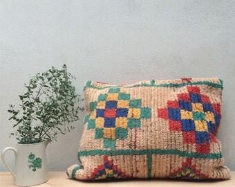 Vintage Boucherouite Pillow