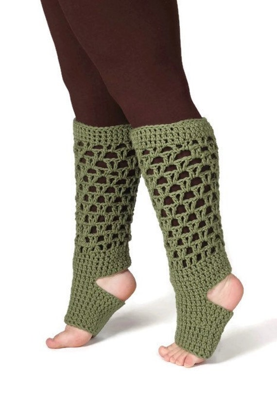 Crochet Yoga Socks : ... Yoga Clothes, Open Toe, Toeless, Heel less, Yoga Socks, Crochet Socks