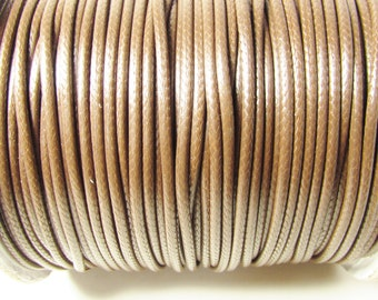 D-02742 - 3m Waxed Cotton Cord 2mm