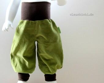 Green 50-128 request size pants corduroy