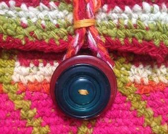 HandMade vintage tapestry purse