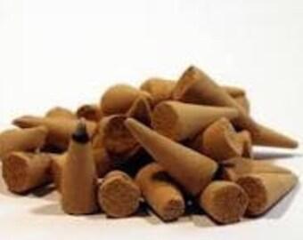 Wild rose incense cones 40