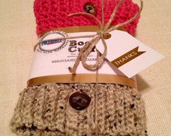 2 - in - 1 Boot Cuffs Two Tone