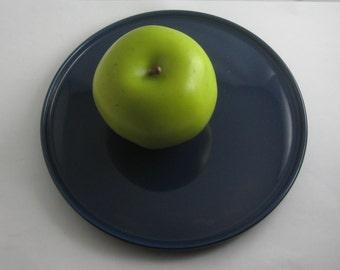 Melitta Stockholm blue. Small plate / breakfast plate / cake plate. Marked: Melitta 7-19. 1960s to 70s. VINTAGE