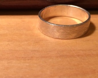 File Textured Ring (made to order)