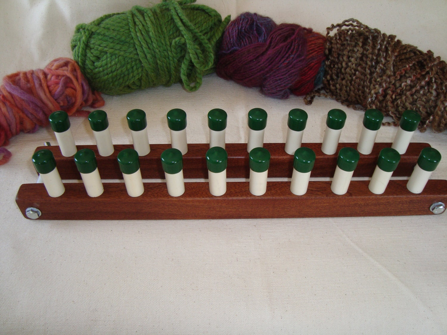 Cottage Quick Long Loom 20 Peg Knitting Board by CottageLooms