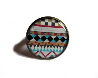 TRIBAL RING - Ethnic jewelry - Native Ring - Folk jewellery