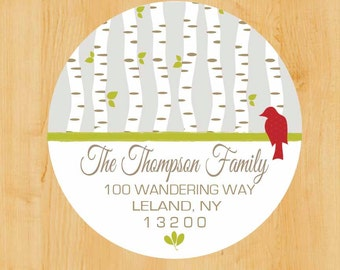 Holiday Address Labels. Christmas Return address label. Winter Stickers. Holiday. Christmas. Return address label