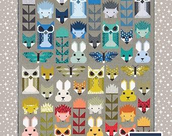 FANCY FOREST Elizabeth Hartman Quilt Modern Pattern