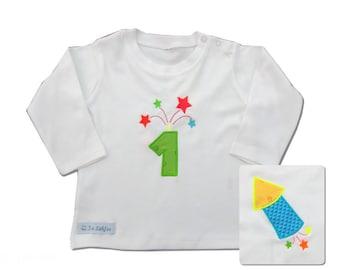 Fireworks - Birthdayshirt 1.Birthday Longsleeve