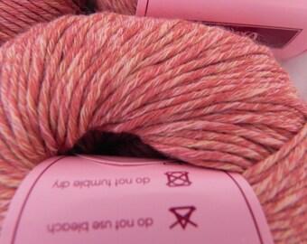 7 Louisa Harding Ondine - Cotton Color #3 Multi - Apricot - 7 Skeins