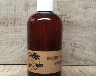 Rosemary & Citrus Liquid Hand Soap   8 oz