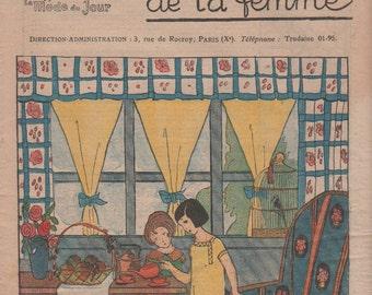 Les Dimanches de la femme   French mode magazine    30/09/1923