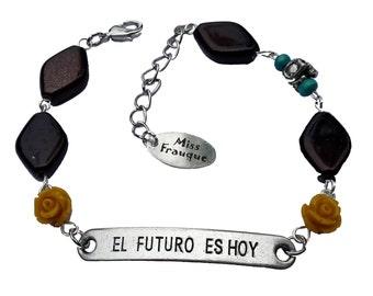 Bracelet Dias de los Muertos El Futuro Es Hoy