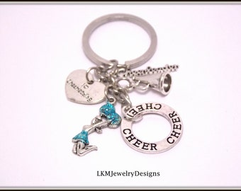 Cheerleading gift - Cheer Keychain - Cheerleading gifts - Cheerleading -Cheerleader - Competition - Cheerleader gift - Cheer coach