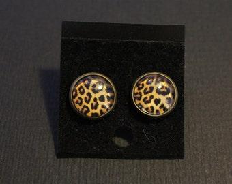 Chips for ears, Zebra or leopard patterns; 2 models