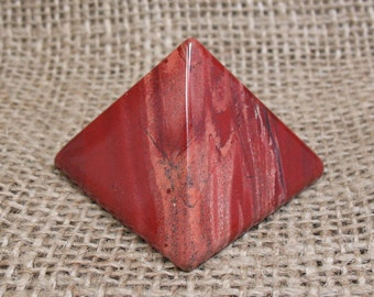 Snakeskin Jasper Pyramid, 1.6 inches - Item 74029