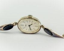 Vintage Silver 925 Women Ero Manual Wind Wrist Watch 17 Jewels by Rowi Rody & Winnerberger