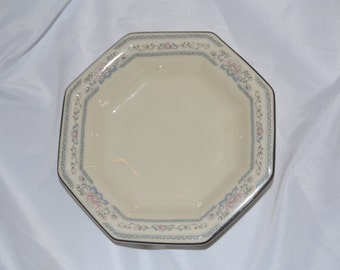 Lenox Charleston Candy Dish Fine China Hand Painted with Platinum Vintage Candy Dish