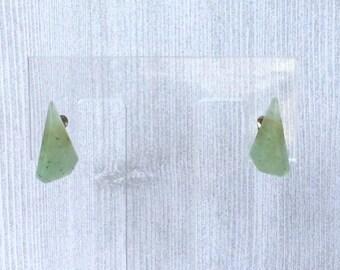 Jade Clip On  Earrings