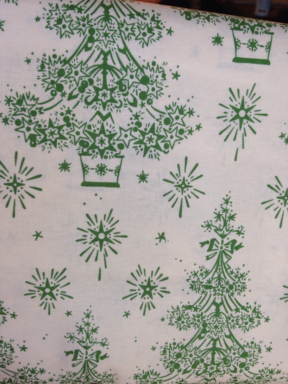 Sale christmas tree fabric by the yard christmas fabric for Fabric for sale by the yard