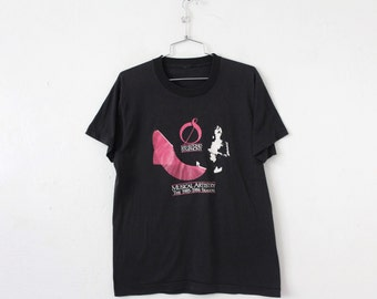 LARGE (Tight) Vintage 1985-1986 San Antonio Symphony Musical Artistry Soft and Thin Graphic T-Shirt