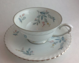 Franconia Laurel Oak China Made in Germany 1964-1975 Tea Cup and Matching Saucer