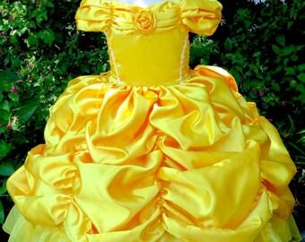 Princess Belle Dress Costume