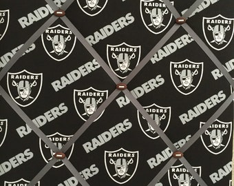 "16"" x 20"" Raiders memory board, Photo memory board"