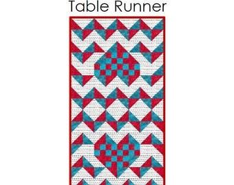 iHeart Chevron Table Runner 3-sizes