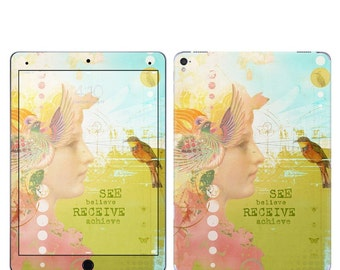 iPad Skin - See Believe by Duirwaigh Studios - for iPad mini, iPad Pro, iPad Air, Retina - Sticker Vinyl Decal